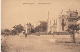 C. P. A. - JUAN LES PINS - LE BOULEVARD DU LITTORAL -  MME LACHAMP - ANIMEE - France