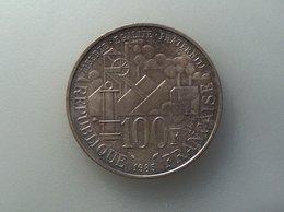 FRANCE 100 Francs 1985 Emile Zola - Silver, Argent - N. 100 Francs