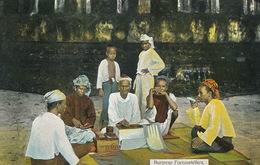 Burmese Fortune Tellers Diseurs De Bonne Aventure  Edit 28 D.A. Ahuja Rangoon - Myanmar (Birma)