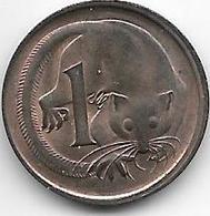 *australia 1 Cent 1967  Km 62 Key Date !!! Unc - Monnaie Décimale (1966-...)
