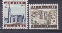 Belgique N° 1397 -1398 ** Tourisme - Bouillon - Lier - 1966 - Unused Stamps