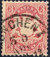 Stamp Bavaria 1870 3kr Used Lot#29 - Bavière