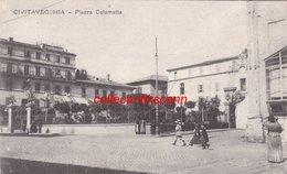 Civitavecchia Piazza Calamatta Scann Recto Verso - Civitavecchia