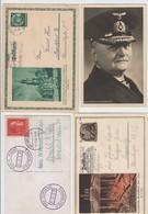Deursches Reich , Lot Mit 4 Karten - Allemagne