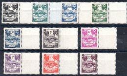 GUADELOUPE - YT N° 41 à 50 - Neufs ** - MNH - Cote: 15,00 € - Guadeloupe (1884-1947)