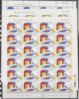 Cyprus 1980 Olympic Sommergames 3v Sheetlets Of 24v ** Mnh (F7634) - Cyprus (Republic)