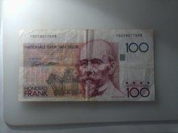BELGIQUE BILLET 100 FRANCS HONDERD FRANK - Belgique