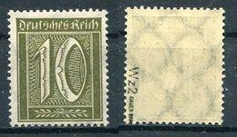 Deutsches Reich Michel-Nr. 178 Postfrisch - Geprüft - Ungebraucht