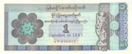MYANMAR P. FX1 1 D 1993 UNC - Myanmar