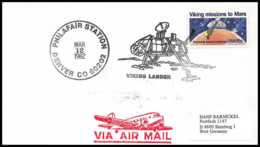 8926/ Espace (space Raumfahrt) Lettre (cover Briefe) 12/3/1982 Philafair Station Denver Viking Lander USA - Cartas