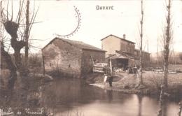 Carte-Photo - Davayé - Moulin De Verneuil - France