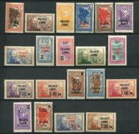10388  MADAGASCAR  N°242/64 ** Sauf243,244,252 Timbres De 1922-39 Surchargés France Libre  1942  B/ TB - Nuevos