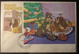 GRENADA GRENADINES DISNEY FDC - Disney