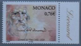 Monaco 2002 Léonard De Vinci ** MNH - Monaco