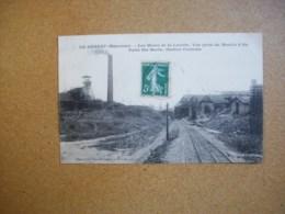 Carte Postale Ancienne Du Genest: Les Mines De La Lucette - Vue Prise Du Moulin à Or - Puits Ste-Barbe-Station Centrale - Le Genest Saint Isle