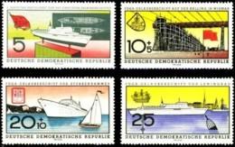 East Germany (GDR) 1960, Ships (MNH, **) - Bateaux
