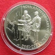 Falkland Islands 50 Pence 1992 40 Years - Falkland