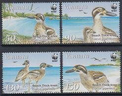 Vanuatu 2009 - Faune, Oiseaux Marins, Wwf - 4 Val Neufs // Mnh - Vanuatu (1980-...)