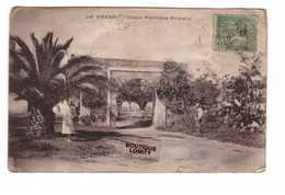 Tunisie La Marsa Vieux Portique Romain + Timbre  Cachet Tunis 1924 - Tunisia