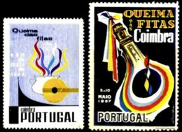 PORTUGAL, Vinhetas Queima Das Fitas, F/VF - Neufs