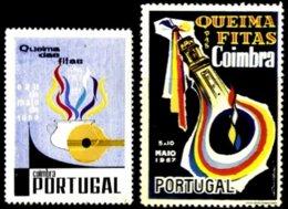 PORTUGAL, Vinhetas Queima Das Fitas, F/VF - Fiscaux