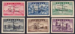 Poland 1946 Liberation Of Warsaw - 1st Anniversary, MNH (**) Michel 421-426 - 1944-.... Republik