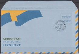 Schweden  1986 Mi-Nr.LF 10  FDC Luftpostfaltbrief ( D 6711) Günstige Versandkosten - Briefe U. Dokumente