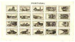 PORTUGAL, Vinhetas Tutísticas, F/VF - Fiscale Zegels