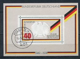 BRD Block 10      O Used      (10728)  (Jahr:1974) - BRD