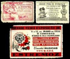 PORTUGAL, Vinhetas Tutísticas, Ave/F - Fiscaux