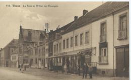 Theux - 902 - Le Poste Et L'Hôtel Des Etrangers - Photo-édit. Hayet-Faymonville, Verviers - Theux