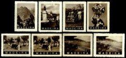 PORTUGAL, Vinhetas Tutísticas, F/VF - Fiscaux