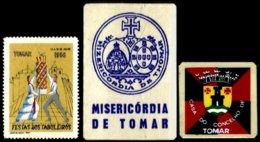 PORTUGAL, Vinhetas Tutísticas, F/VF - Neufs