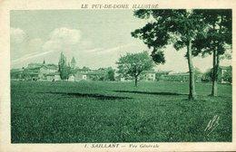 SAILLANT - Vue Générale - France