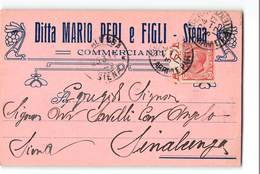 563 01 SIENA PEPI X SINALUNGA - 1900-44 Vittorio Emanuele III