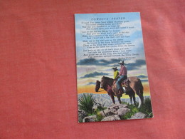 Cowboy's Prayer   Ref 3107 - Other