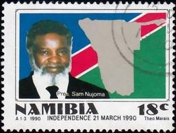 NAMIBIA - Scott #659 Pres. Sam Nujoma / Used Stamp - Namibia (1990- ...)
