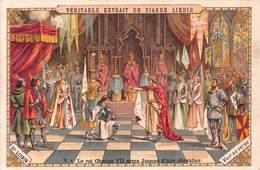 Chromo LIEBIG - Le Roi Charles VII Arme Jeanne D'Arc Chevalier - Liebig