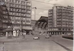 AK Berlin - Alexanderplatz - Mit Mi.-Nr. 634 Sonderstempel Ostseewoche Rostock 1958 (38264) - Mitte