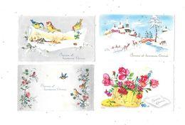 10971 - Lot De 4 CPA Mignonnettes, LUCE ANDRE - Illustratori & Fotografie