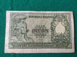 50 Lire 1951 - [ 2] 1946-… : Repubblica