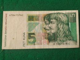 5 Kuna 1993 - Croazia