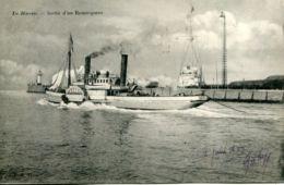 N°68258 -cpa Le Havre -sortie D'un Remorqueur - - Remorqueurs