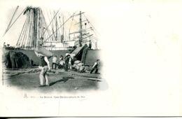 N°68264 -cpa Le Havre -les Déchargeurs De Blé- - Commerce