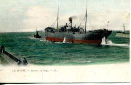 N°68265 -cpa Le Havre -steamer Au Large- - Commerce