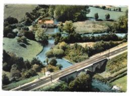 61 Condé Sur Huisne, Vue Aérienne, Le Pont Sur L'huisne (GF532) - France