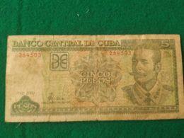 5 Pesos 2000 - Cuba