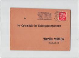 7981 01 KOBLENZ TO BERLIN - METTKAMPFTAGE TRIER  8 9 - 7 - 1939 DER SA GRUPPE  WEFTMARK  POSTMARK - Alemania
