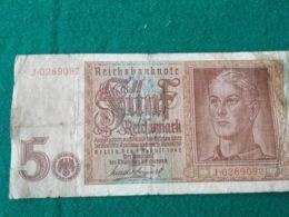 5 Mark 1942 - [ 4] 1933-1945 : Terzo  Reich