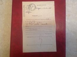 Avignon Central Sujet Télégramme PTT - Marcophilie (Lettres)